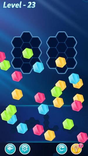 iPhone、iPadアプリ「Block! Hexa Puzzle™」のスクリーンショット 2枚目