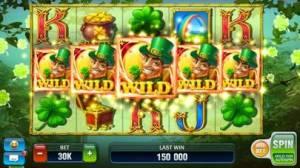 iPhone、iPadアプリ「ビリオネアカジノ」のスクリーンショット 1枚目