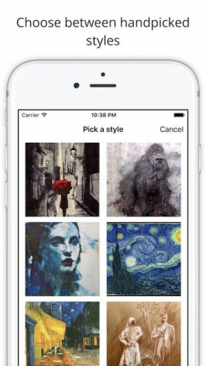 iPhone、iPadアプリ「Lucid - turn your pictures into art.」のスクリーンショット 3枚目