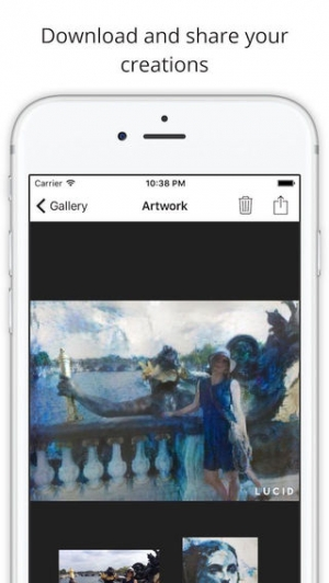 iPhone、iPadアプリ「Lucid - turn your pictures into art.」のスクリーンショット 4枚目