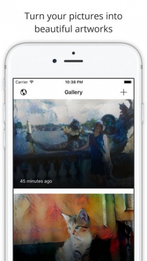 iPhone、iPadアプリ「Lucid - turn your pictures into art.」のスクリーンショット 1枚目