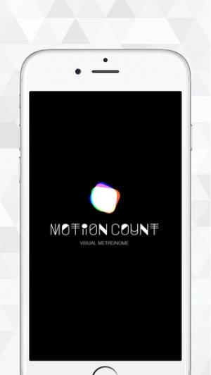 iPhone、iPadアプリ「Motion Count Free」のスクリーンショット 1枚目