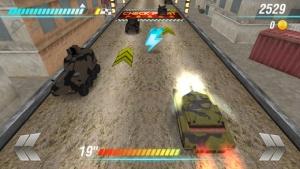iPhone、iPadアプリ「ベスト戦車ラッシュレーシングゲーム (World War of Tanks)」のスクリーンショット 4枚目