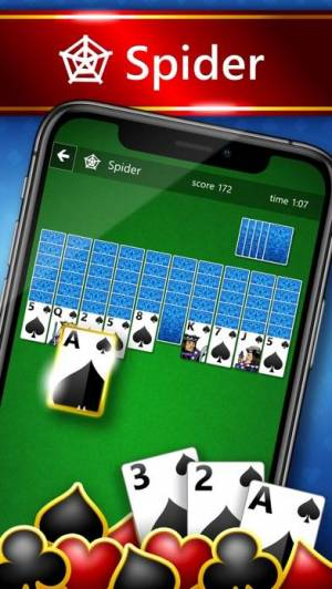 iPhone、iPadアプリ「Microsoft Solitaire Collection」のスクリーンショット 2枚目