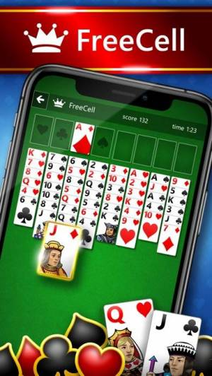 iPhone、iPadアプリ「Microsoft Solitaire Collection」のスクリーンショット 3枚目