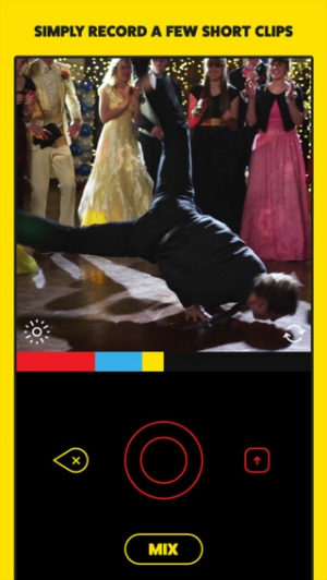 iPhone、iPadアプリ「Mixatron by Funny Or Die - Remix Your Videos With Video Filters」のスクリーンショット 2枚目