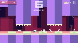 iPhone、iPadアプリ「Bonecrusher: Free Awesome Endless Skull & Bone Game」のスクリーンショット 3枚目