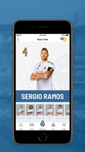 iPhone、iPadアプリ「Realmadrid App」のスクリーンショット 4枚目