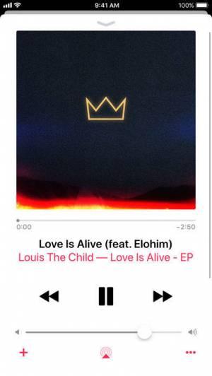 iPhone、iPadアプリ「Apple Music」のスクリーンショット 5枚目