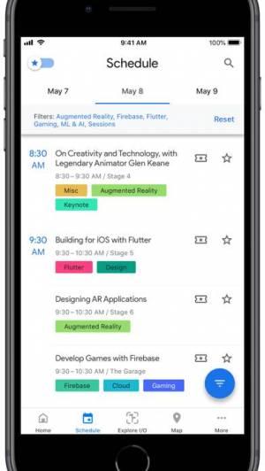 iPhone、iPadアプリ「Google I/O」のスクリーンショット 2枚目