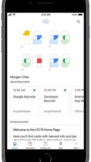 iPhone、iPadアプリ「Google I/O」のスクリーンショット 4枚目
