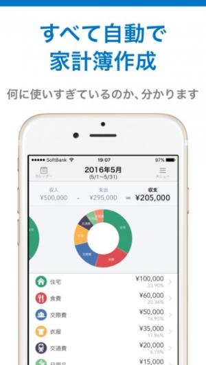 iPhone、iPadアプリ「マネーフォワード for 滋賀銀行」のスクリーンショット 2枚目