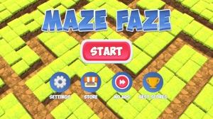 iPhone、iPadアプリ「Maze Faze」のスクリーンショット 1枚目