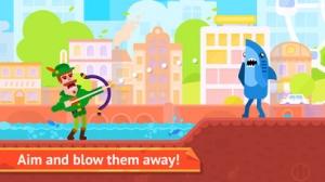 iPhone、iPadアプリ「Bowmasters - Multiplayer Game」のスクリーンショット 2枚目