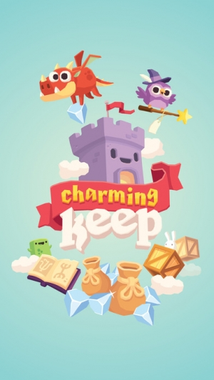 iPhone、iPadアプリ「Charming Keep - Collectable Tower Tapper」のスクリーンショット 1枚目
