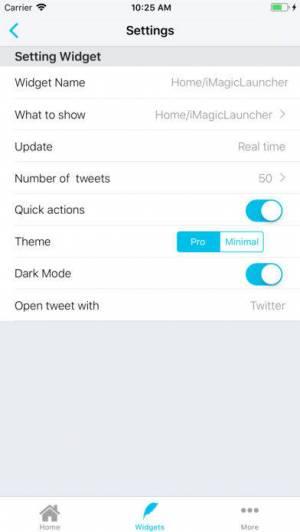 iPhone、iPadアプリ「Tweety Pro Widgets for Twitter」のスクリーンショット 4枚目