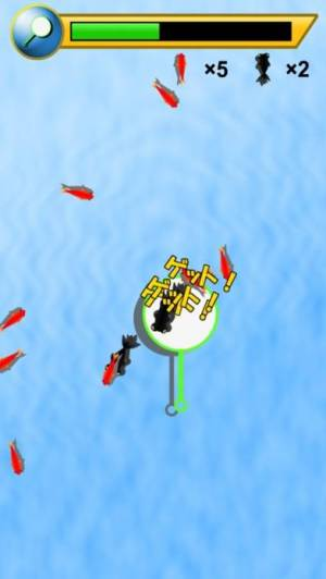 iPhone、iPadアプリ「金魚すくい 〜定番無料ゲーム〜」のスクリーンショット 3枚目