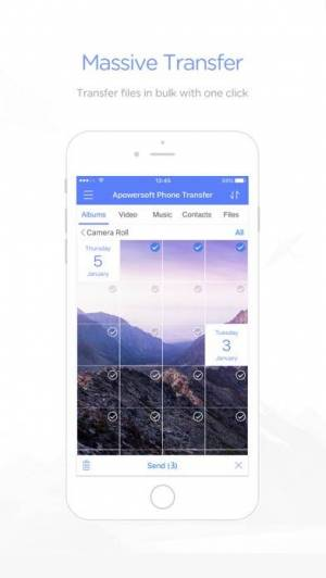 iPhone、iPadアプリ「ApowerTrans - ファイル無線転送」のスクリーンショット 3枚目