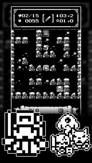 iPhone、iPadアプリ「1ビットローグ ダンジョン探索RPG!」のスクリーンショット 3枚目
