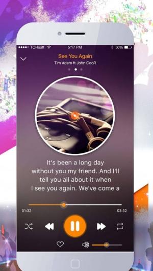iPhone、iPadアプリ「音楽プレーヤー - MP3プレーヤー - 無料の音楽アプリ!ミュージッ」のスクリーンショット 2枚目