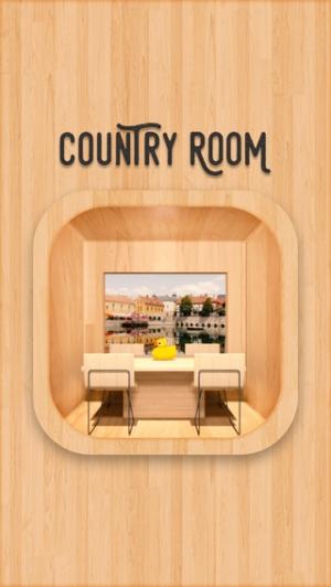 iPhone、iPadアプリ「脱出ゲーム CountryRoom」のスクリーンショット 1枚目