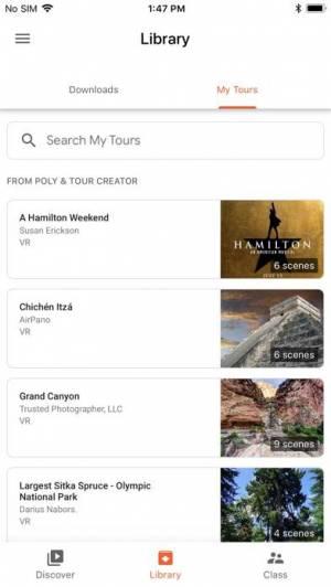 iPhone、iPadアプリ「Expeditions」のスクリーンショット 2枚目