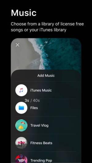 iPhone、iPadアプリ「Spark Camera & Video Editor」のスクリーンショット 3枚目