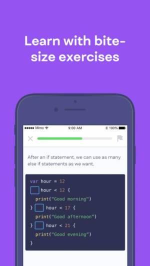 iPhone、iPadアプリ「Mimo: Learn to Code」のスクリーンショット 2枚目