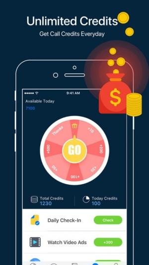 iPhone、iPadアプリ「WhatsCall-Calling App+Recorder」のスクリーンショット 4枚目