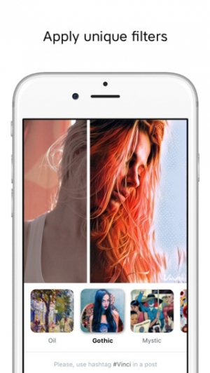 iPhone、iPadアプリ「Vinci – Edit Photos with Creative Picture Filters and Art Effects」のスクリーンショット 3枚目