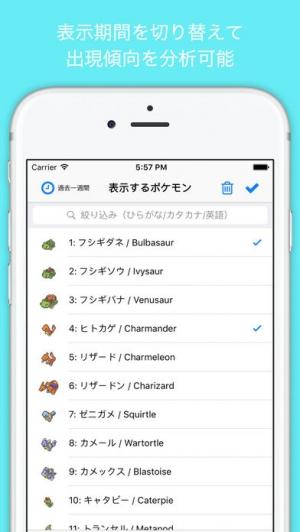 iPhone、iPadアプリ「PoGoMa for ポケモンGO 〜無料攻略マップ 日本版〜」のスクリーンショット 4枚目