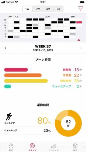 iPhone、iPadアプリ「Zones 心拍トレーニング」のスクリーンショット 5枚目