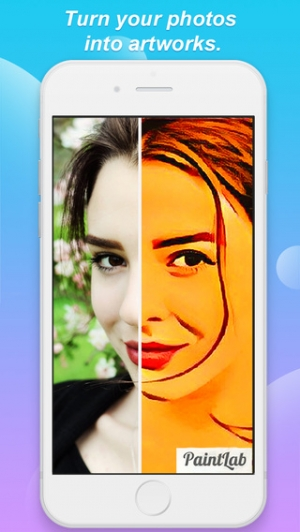 iPhone、iPadアプリ「PaintLab - Beauty Camera and Photo Editor with Art Effects for Instagram free」のスクリーンショット 1枚目