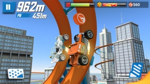iPhone、iPadアプリ「Hot Wheels: Race Off」のスクリーンショット 5枚目