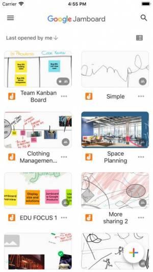 iPhone、iPadアプリ「Jamboard」のスクリーンショット 1枚目