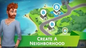 iPhone、iPadアプリ「The Sims シムズ ポケット」のスクリーンショット 1枚目