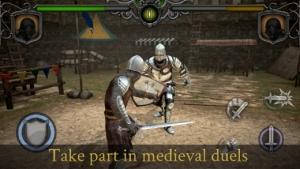 iPhone、iPadアプリ「騎士の戦い: アリーナ」のスクリーンショット 1枚目