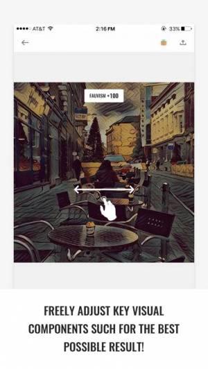 iPhone、iPadアプリ「GoArt – Art Photo Editor」のスクリーンショット 4枚目