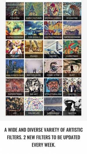 iPhone、iPadアプリ「GoArt – Art Photo Editor」のスクリーンショット 3枚目