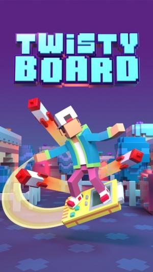 iPhone、iPadアプリ「Twisty Board」のスクリーンショット 4枚目