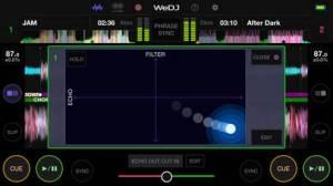 iPhone、iPadアプリ「WeDJ for iPhone」のスクリーンショット 2枚目
