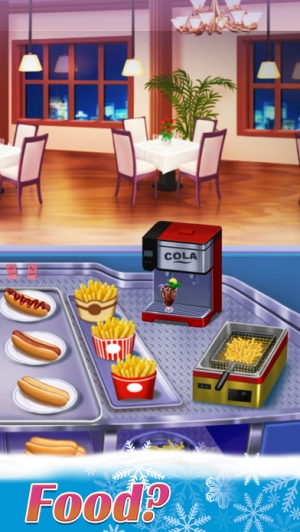 iPhone、iPadアプリ「Kitchen Craze: World Cooking Chef Fever」のスクリーンショット 2枚目