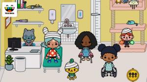 iPhone、iPadアプリ「Toca Life: Hospital」のスクリーンショット 3枚目