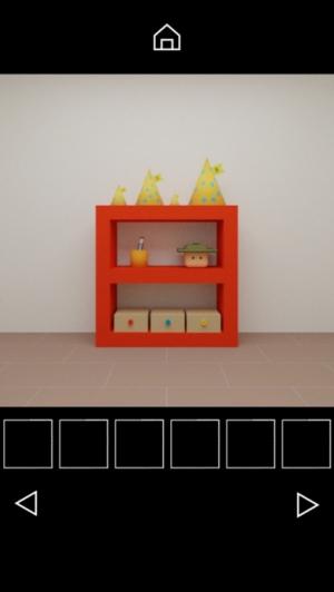 iPhone、iPadアプリ「脱出ゲーム Hat Cube」のスクリーンショット 3枚目