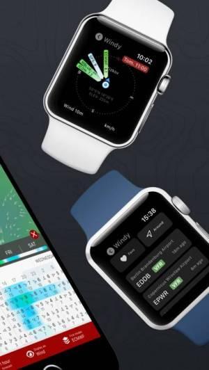 iPhone、iPadアプリ「Windy.com」のスクリーンショット 4枚目