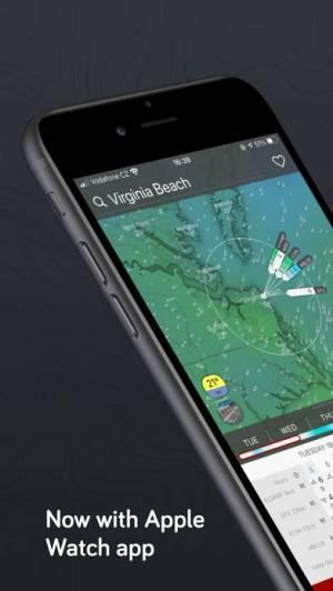 iPhone、iPadアプリ「Windy.com」のスクリーンショット 3枚目