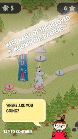 iPhone、iPadアプリ「Moomin Quest Kids」のスクリーンショット 2枚目