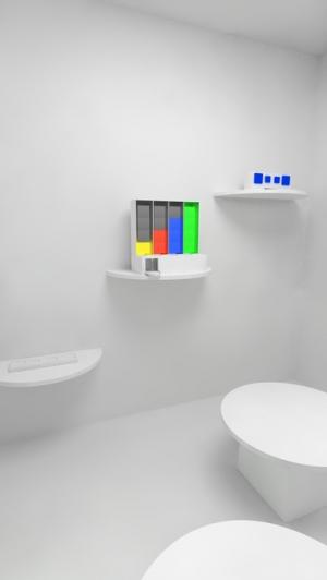 iPhone、iPadアプリ「脱出ゲーム - Solid - 立体の模型がある無機質な部屋からの脱出」のスクリーンショット 4枚目