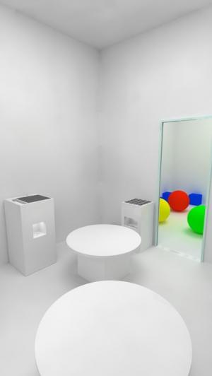 iPhone、iPadアプリ「脱出ゲーム - Solid - 立体の模型がある無機質な部屋からの脱出」のスクリーンショット 3枚目