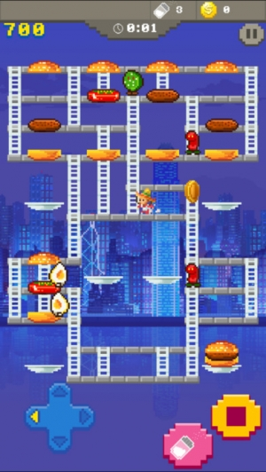 iPhone、iPadアプリ「Super Burger Time - GMode Official license」のスクリーンショット 2枚目